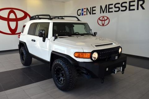 Certified Pre-Owned 2012 Toyota FJ Cruiser